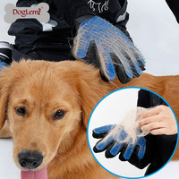 Pet Glove Grooming Tool Cat Dog Hair Gentle Shedding Brush
