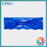 Brand New Royal Blue Breathable Lace Headband Fit for Little Girls Infant Toddler