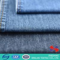 New products OEM design colored pure cotton denim fabric for sale