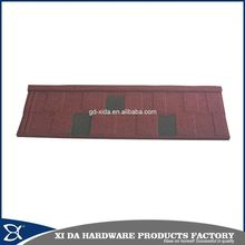 Eco-friendly stone coated metal steel roof tile sheet