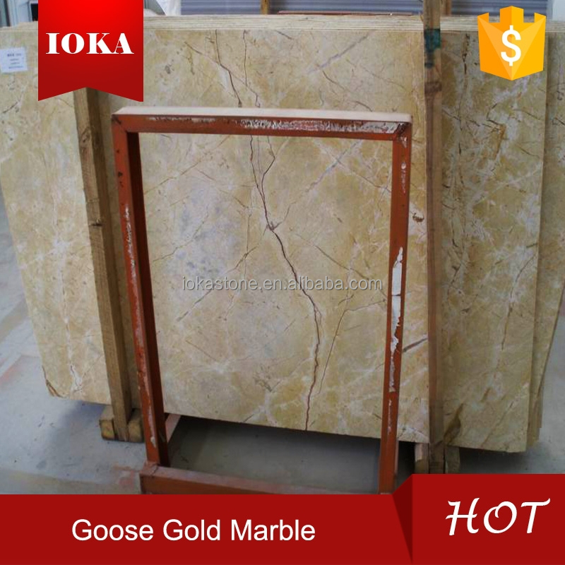 goose golden marble, yellow grain marble
