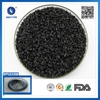 Manufacturer plastic injection molding virgin black color Automotive wind wheel 30%gf filled pp