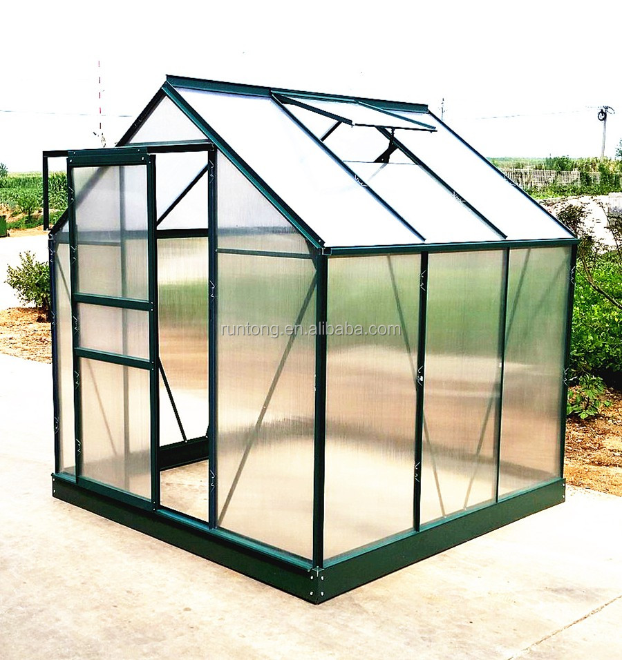High Quality Garden Greenhouse with Aluminum Frame and Polycarbonate