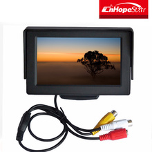 Hot selling tft lcd monitor small rear view mirror car tv monitor with low price