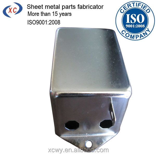 Deep draw metal forming galvanized sheet carbon steel enclosures retainer case
