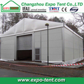 Weather-resistant aluminum frame warehouse tent for aviation company for sale