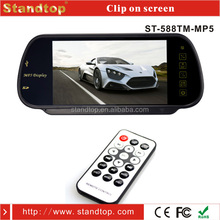 Bus/ Taxi/ Truck Rear View Mirror 7 inch LCD Monitor With SD/USB Card