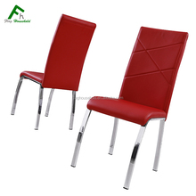 Durable Modern High back Pu Leather Chair For Dining Room FC-320