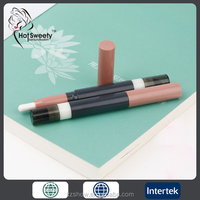 eye beauty pencil two end eyshadow pencil/pen cosmetics professional eyeshadow two end with brush