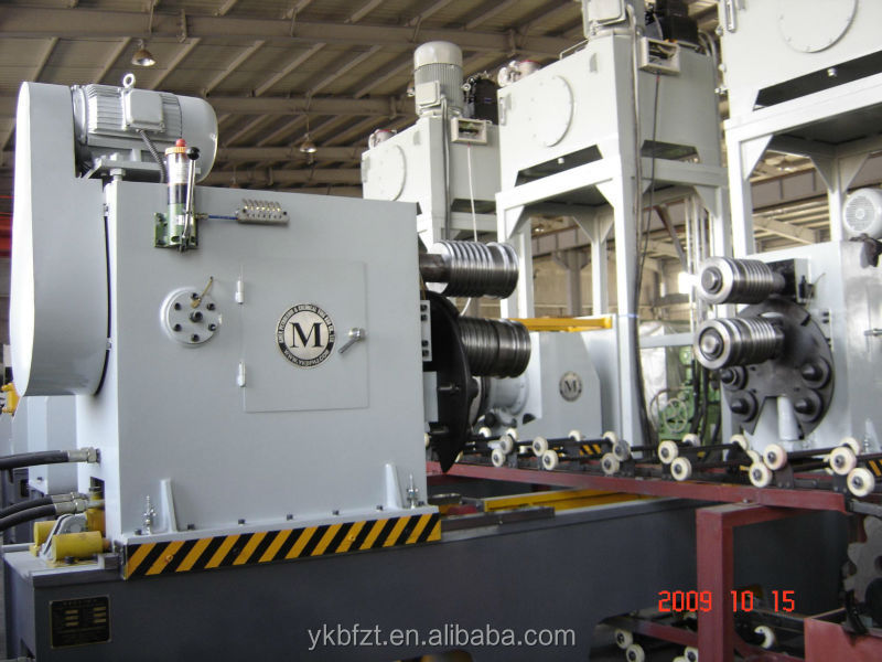 """w""reinforced bar forming machine for steel barrel production line or steel drum making machine"