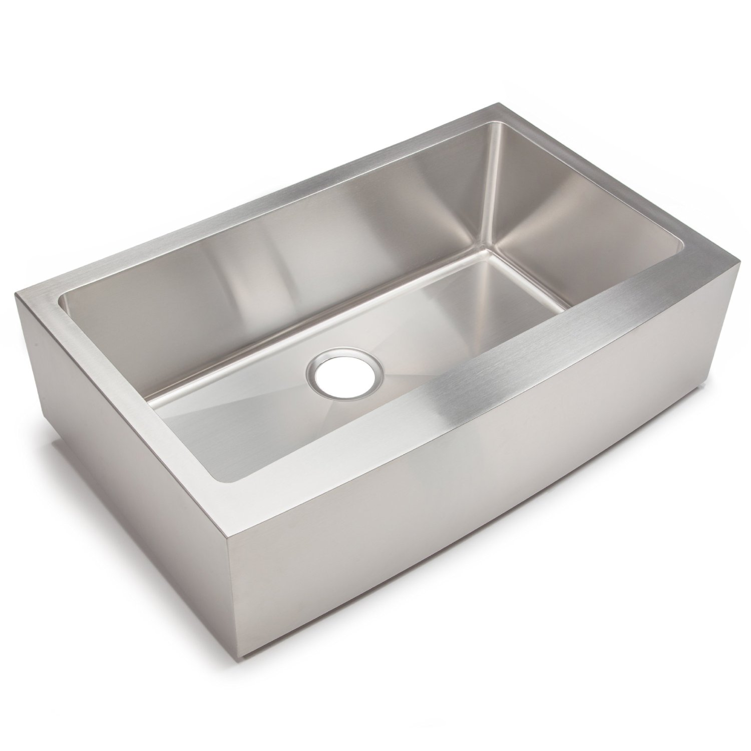 New premium Unique Farmhouse Apron Stainless Steel Kitchen Sin for wholesale
