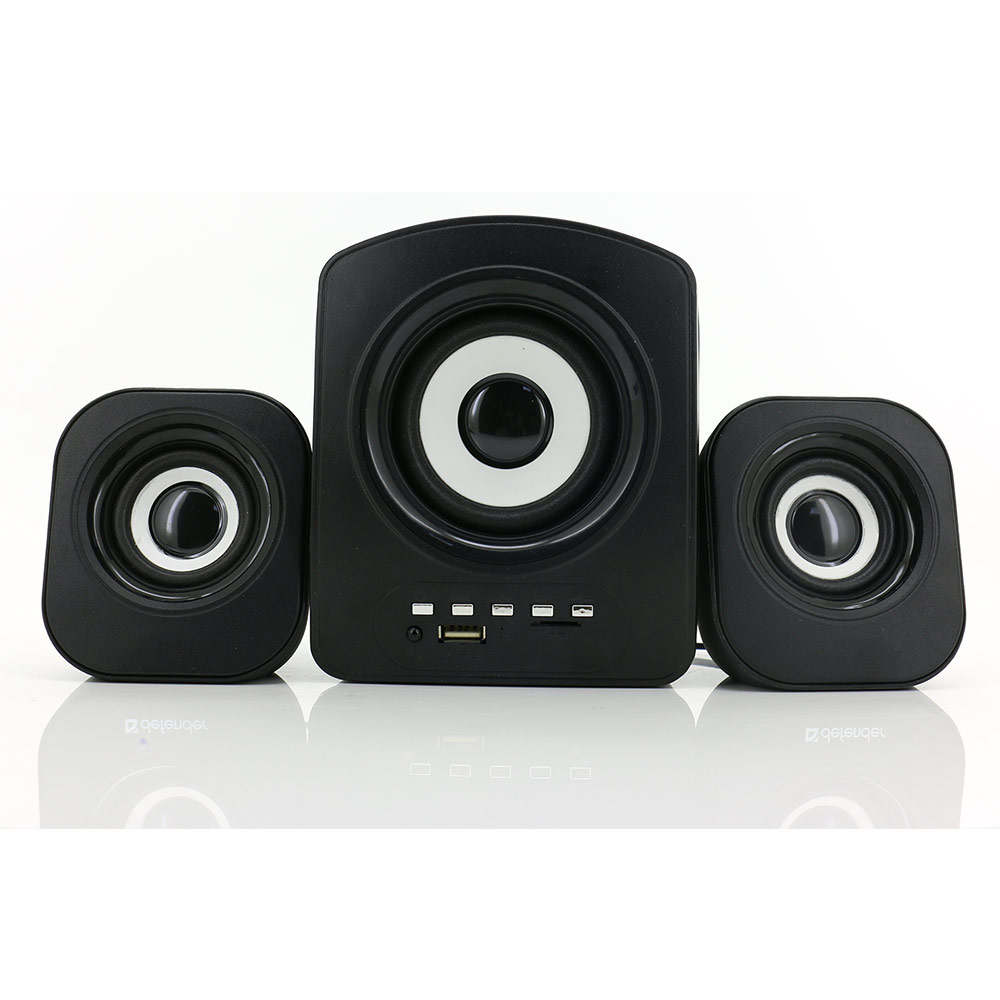2.1 ch computer speaker portable 3 inch computer subwoofer speaker with soundbar