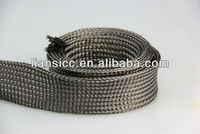 "1/4"" Ultra Light braided carbon fiber tubing Expandable Braided Carbon Fiber Sleeve for High Strength Tubular Structures"