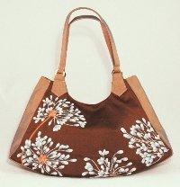 Silk Embroidery Bag