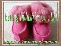 Warm Spanish Merino Double Face Leather Baby Shoes