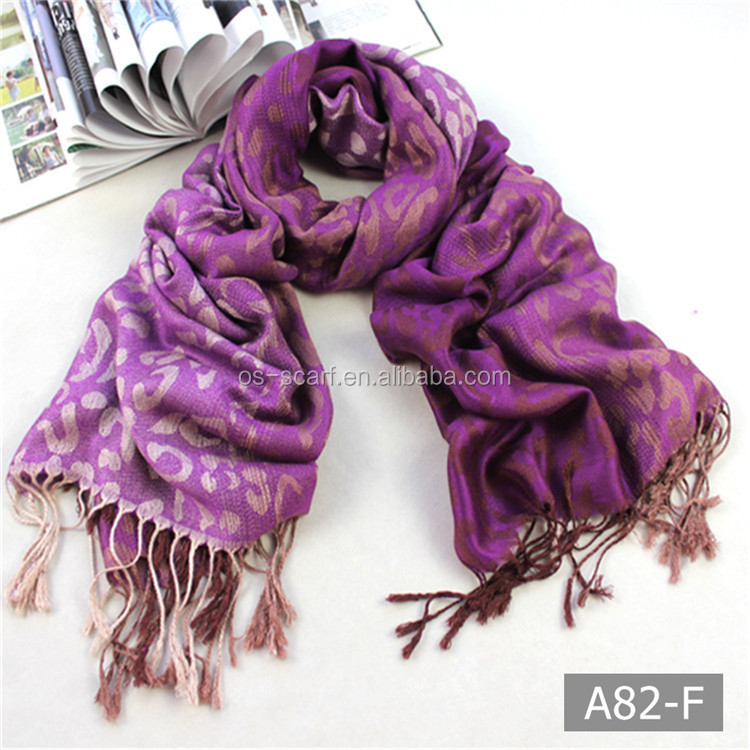 A82 Hot sell delicate multicolor new pashmina scarf