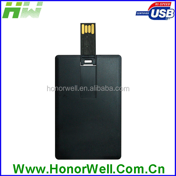 100% Real Capacity 16G business credit card USB 2.0 Flash Memory Stick Pen Thumb Drive