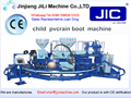 PVC two color child boot machine