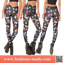 2017 Fashion Galaxy Print Women Leggings Wholesalers in Tirupur