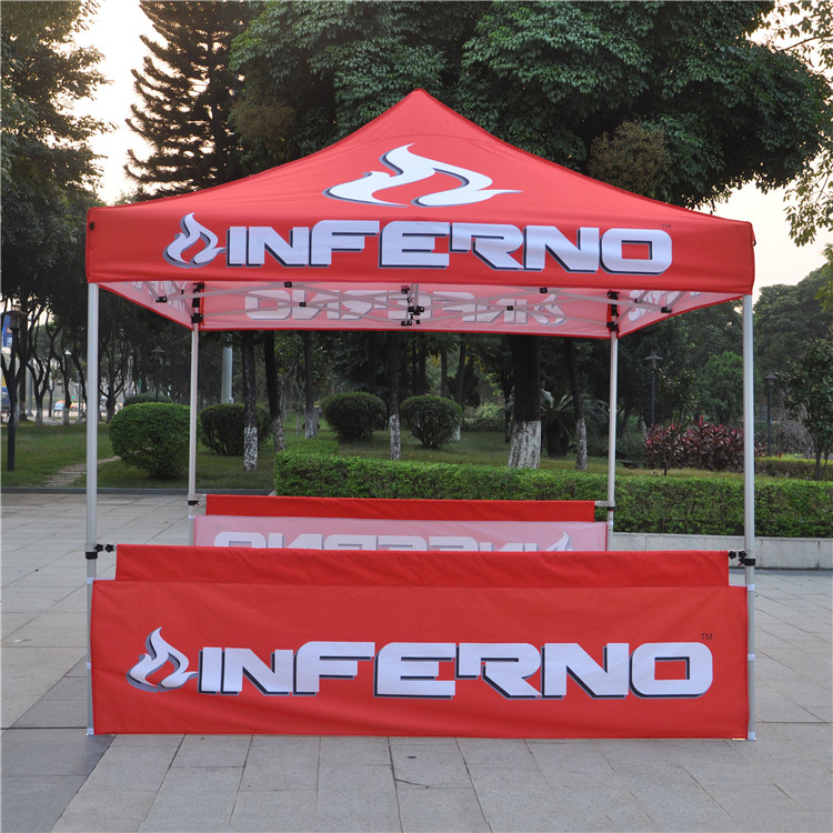 Low Price china folding display stand exhibition tent