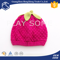 Retail comfortable newborn knitted baby beanie hats