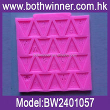 silicone muffin baking cup ,H0T164 chocolate bar mould
