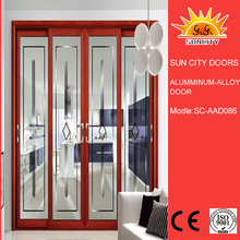 SC-AAD086 Hot sale top quality best price glass sectional door,light weight doors