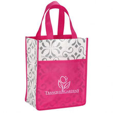 exquisite handmade non-woven convention tote bag