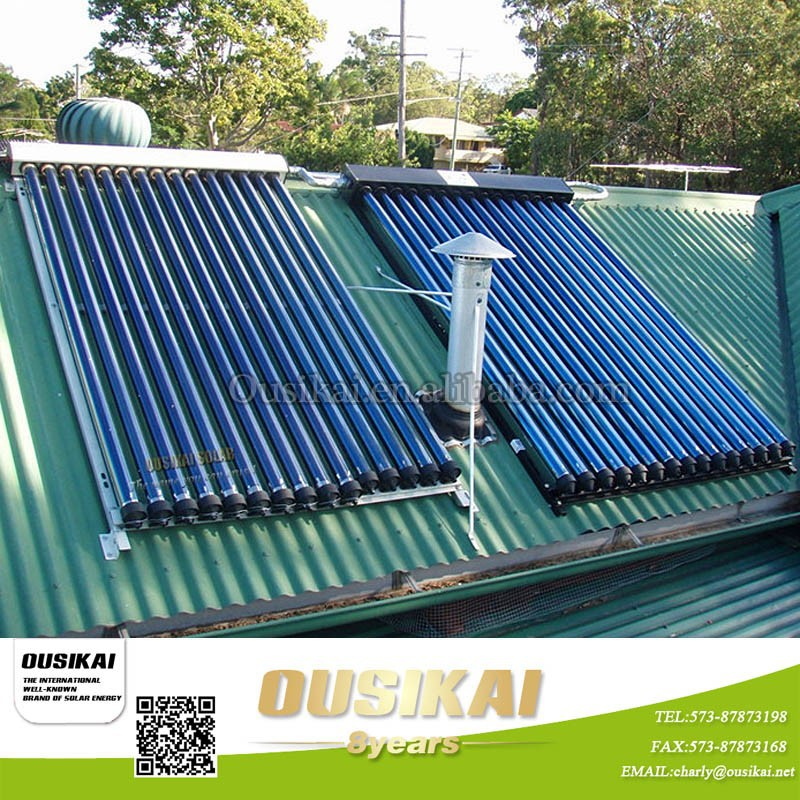 China Manufacturer Split Pressurized Solar Water Heater Collector