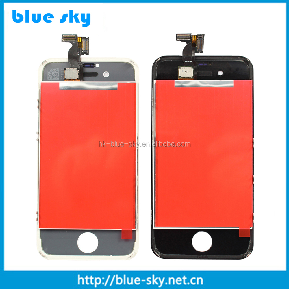 For iPhone 4S LCD Screen Digitizer Touch Display Glass