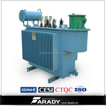 power distribution transformer 20kv 315kva oil immersed power electrical transformer S9 series