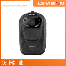 LS VISION IP68 Waterproof 32MP Body Camera Police Video and Audio Recorder Built in 64GB SD card