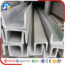 Low price u shape galvanised steel channel for bulding construction