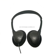 PTCQ cheap disposable aviation airplane airline headphones