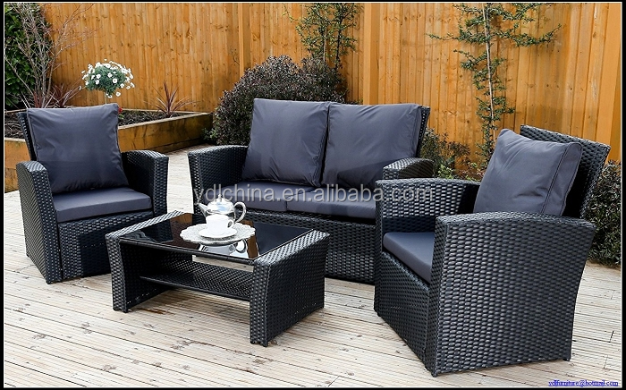 factory sale low cost promotional outdoor sofa set YKD-02D