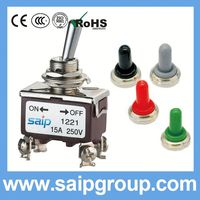 15A 250V on off on mts-202 small toggle switch toggle lever 2P 3P 4P 6P 9P 12P