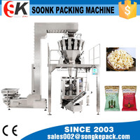 SK-420DT vertical form fill and seal packaging machine