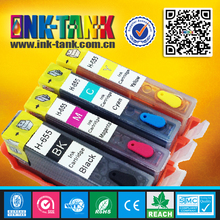 Used deskjet 3525 4615 4625 printer refill ink cartridge for hp 655