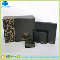 Galaxy Black Packaging Empty Chocolate Truffle Boxes
