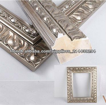 Para espejos marcos para cuadros marco identificaci n del for Marcos plateados para espejos
