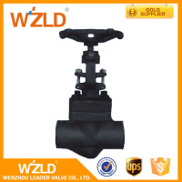 WZLD AP1598 Cast And Stainless Steel Forged Socket Weld Globe Valve With High Pressure