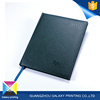 Hot sale promotional cheap black leather cover diary exercise note book
