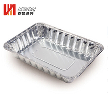 full size aluminium foil food container tray