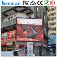 convex led display 2015 Leeman P10 SMD fast installation stage rental pixel pitch led board