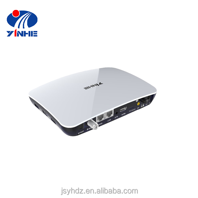 HD H.265 Irdeto dvb-s2 digital satellite receiver with hbbtv middleware embedded
