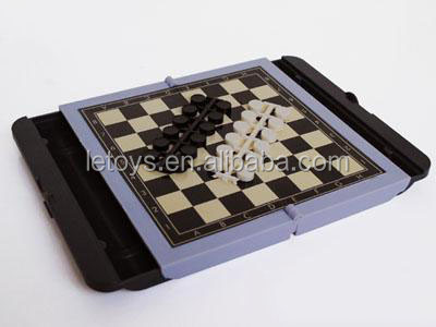 Best selling good quality plastic chessboard for wholesale plastic checker pieces
