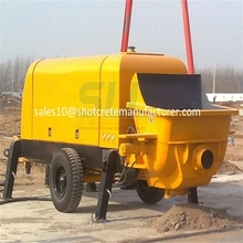 Products highly appreciated by customers good concrete pumping machine and concrete mixer