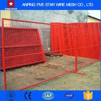 Alibaba hot-dipped galvanized used canada temporary fence for event