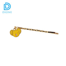 Wholesale Fancy Gold Decorative Hair Bobby Pins For Girls Fashion Jewelry