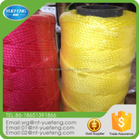Supply Wear Resistant Light Texture PP Baler Twine For Marine Cable